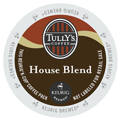Tully's House Blend Extra Bold Coffee K-Cups