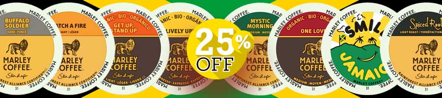 Marley Single Cup 25% off
