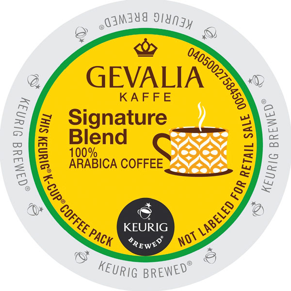Signature Blend 100% Arabica K-Cups from Gevalia