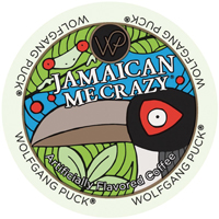 Wolfgang Puck Jamaican Me Crazy coffee graphic