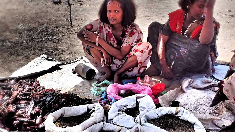 Two women on market day in Oromia, Ethiopia courtesy Sara Tz at Flickr