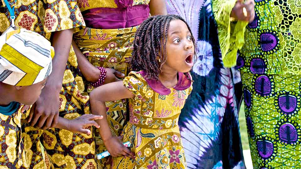 Little African Princess courtesy William Murphy at Flickr