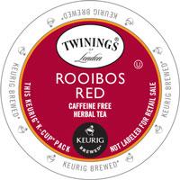 Twinings Rooibos Red Tea K-Cup Lid