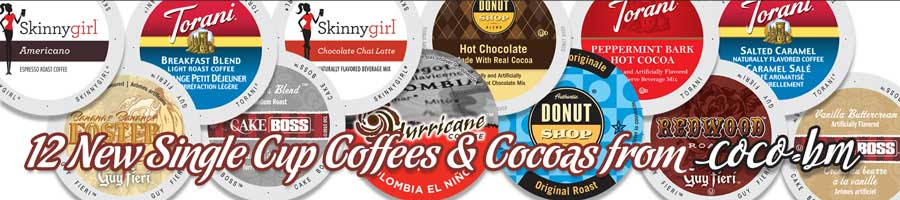 12 New Single Cup K-Cups