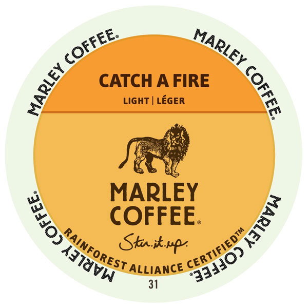 Catch a Fire from Marley Coffee